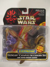 Hasbro Star Wars Episode I Red Gungan Catapult Accessory Set New on Card