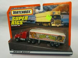 "Matchbox Convoy CY-29 Mack Box Truck- ""Ringling Bros. Circus"", carded"