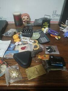 Junk Drawer Lot. Toys Jewelry, Fridge Magnets And More