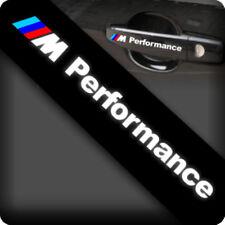 4pcs 3M Reflective BMW M Performance Doorknob Car Sticker Decal 01710 12x2CM