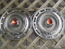 1966 66 DODGE CHRYSLER PLYMOUTH 15 IN.  HUBCAPS WHEEL COVER CENTER CAP ANTIQUE