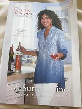 SOFT SURROUNDINGS CATALOG 2015 INDIAN SUMMER COLLECTION CLOTHING HOME BEAUTY NEW