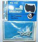 """GOLDBERG 412  1/8"""" HORN BRACKET"""