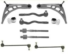 BMW E46 FRONT LOWER WISHBONE CONTROL ARMS BUSHES LINKS OUTER INNER TRACKROD ENDS