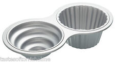 KITCHEN CRAFT GIANT 40cm JUMBO LARGE NON STICK CAKE CUPCAKE BAKING TIN MOULD PAN