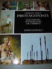 SOAVI Giorgio, Protagonisti: Giacometti, Sutherland, De Chirico