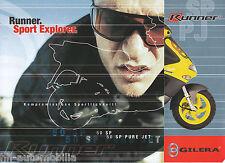 Gilera Runner 50 SP Pure Jet Racing Replica Prospekt 2003 brochure Broschüre