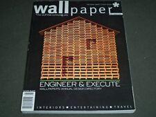 2001 JULY/AUGUST WALLPAPER MAGAZINE - GREAT PHOTOS - II 8575