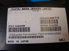 Fujistu 915MHz SAW F5CP-915M00-D22BJ, SMD, New, 10pcs