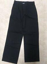 "Boys Chaps Black ""Khaki"" Pants size 16 used"