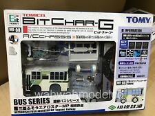 Tomy Tomica Bit Char-G BUS 08 Micro RC car. Super Rare.