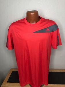 Men's Adidas Climacool Response Tennis S/S Athletic T-Shirt Size Medium (M)