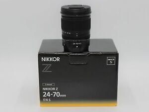Nikon NIKKOR Z 24-70mm f/4 S Lens. 2 Years Warranty
