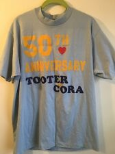 Vintage Hipster Shirt 50th Anniversary Tooter & Cora Marriage Wedding Love Heart