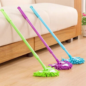 180 Degree Rotatable Adjustable Triangle Cleaning Mop Telescopic Rod Cleaning UK
