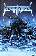DEATH ANGEL The Dream Calls For Blood Ltd Ed Discontinued RARE New Poster! Metal