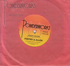FOSTER & ALLEN Johnny Brown / Just For Old Time's Sake 45   SirH70