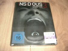 Insidious Chapter 3 Blu-Ray Steelbook NEU