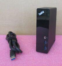 Lenovo ThinkPad USB 3.0 Docking Station DVI DU9019D1 0A34193 03X6059