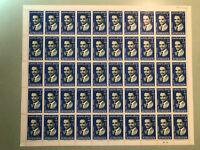 Jordan - King Hussein Portrait 2 Fils Complete Sheet of 50 Sc. #528A Folded