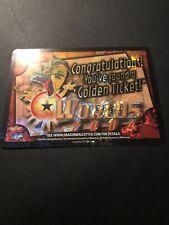 Dragon Ball Z CCG Golden Ticket Worlds 2004!!