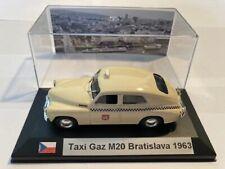 Taxi Gaz M20 Pobeda Bratislava 1963 1/43 avec boite vitrine.