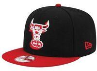 Chicago Bulls NBA Windy City Snapback 9Fifty Hat by New Era NWT Sizes S/M & M/L