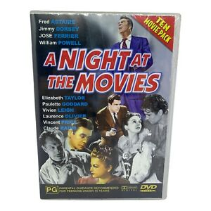 Brand New 10 Classic Movies DVD Set - A NIGHT AT THE MOVIES - R4, PAL - 2005