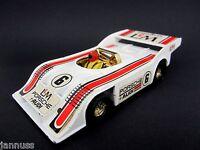 Corgi Toys No. 397 L&M Porsche Audi Rennwagen weiß 1:36 guter Zustand mit Fahrer