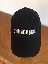 Yadda Yadda Yadda Black Cap Hat Adjustable OSFA