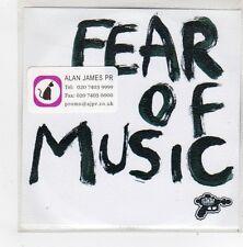 (FN298) Fear Of Music, Skin And Bones - DJ CD
