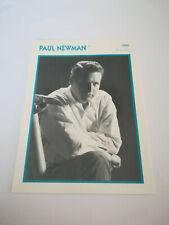 Paul Newman - Fiche cinéma - Portraits de stars 13 cm x 18 cm