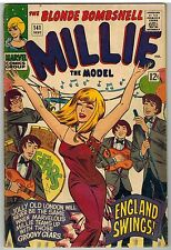 MILLIE THE MODEL #141 1966 GGA CHEESECAKE MARVEL SILVER AGE!
