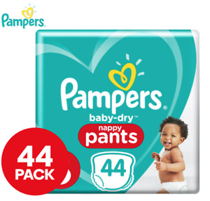 Pampers Baby Dry Crawler Size 3 6-11kg Nappy Pants - 44 Pack