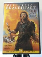 Mel Gibson~Braveheart ~ (Dvd, 2000, Widescreen) Brand New And Factory Sealed