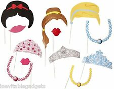 Princess Girls Party Fun Photo Booth Props Kids Party Props