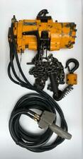INGERSOLL RAND ML500K-2C10-C6U PNEUMATIC AIR CHAIN HOIST 500 KGS 12 FT. CHAIN (2