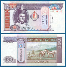 MONGOLEI / MONGOLIA 100 Tugrik 1994 UNC  P.57