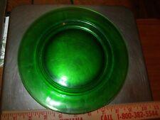 Vtg Cambridge Glass Green