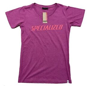 SPECIALIZED PODIUM TEE CYCLING NEW NWT WOMENS MEDIUM PINK SHIRT