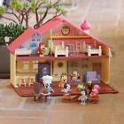 BLUEY Blue Heeler Dog BLUEY\'S FAMILY HOME House Playset Pack & Go Girls Toy Gift
