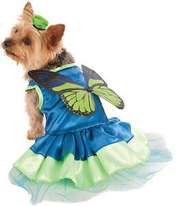Pixie Pup Fairy Butterfly Animal Cute Fancy Dress Halloween Dog Cat Pet Costume