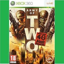 ARMY OF TWO  :  40 EME JOUR        -----   pour X-BOX 360  // PN