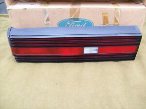 NOS Ford Driver Side Tail Light Lamp Lens Mercury Lynx 81-85 LH Left Assembly