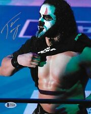 Tama Tonga Signed 8x10 Photo COA New Japan Pro Wrestling Guerrillas of Destiny 1