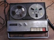 Vintage Realistic 505A Portable Reel to Reel Tape Recorder Player