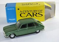 A CENTURY OF CARS NOREV 1/43 SCALE RENAULT R 16 DIECAST CAR MODEL