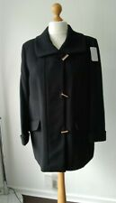 Wool and Cashmere Blend Jacket Length Smart Outdoor Coat Size 16 Petite fit