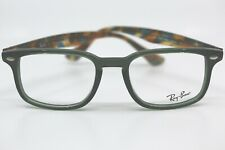Ray Ban RB5353 5630 TRANSPARENT GREEN New Authentic Eyeglasses 50