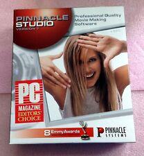 PINNACLE STUDIO VERSION 7 - BOOK AND CD IN ORIGINAL BOX